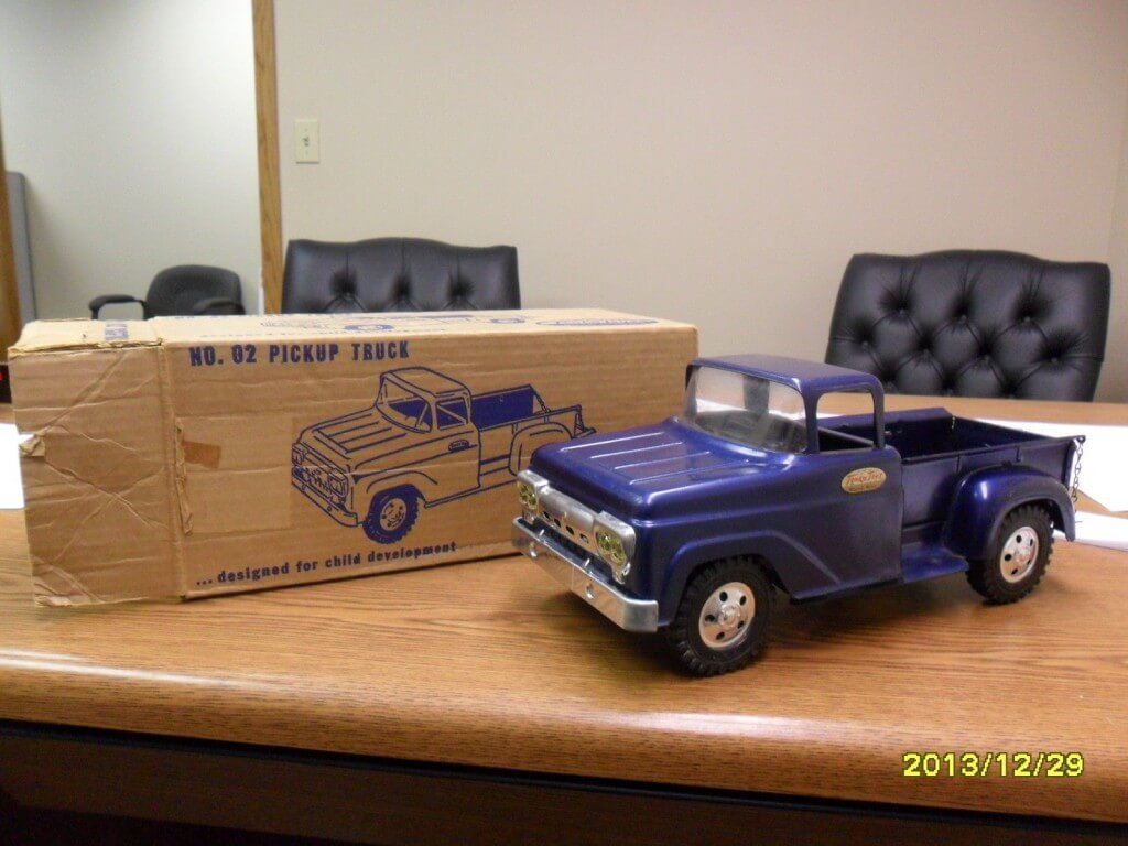 Tonka Trucks Restored Blue Pickup