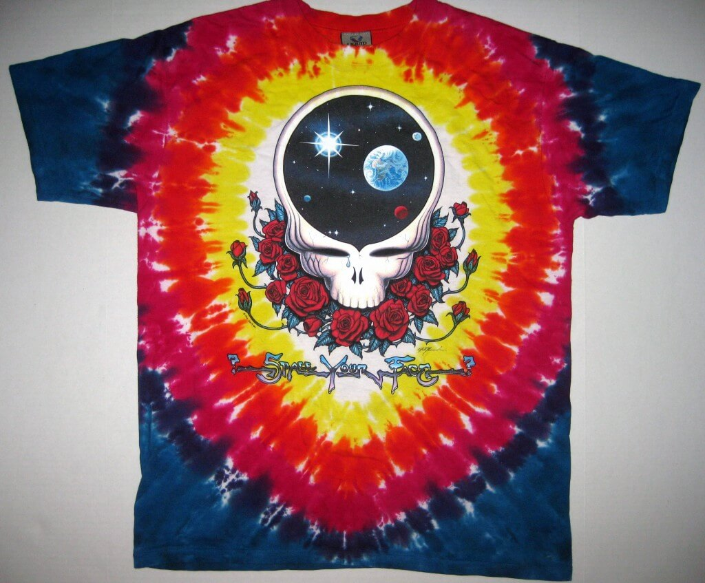 1992 Grateful Dead Liquid Blue T-Shirt
