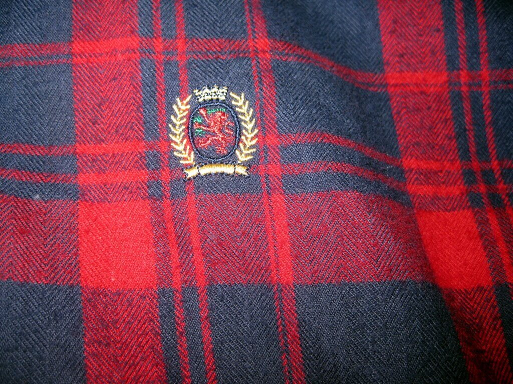 Plaid Tommy Hilfiger Shirt eBay