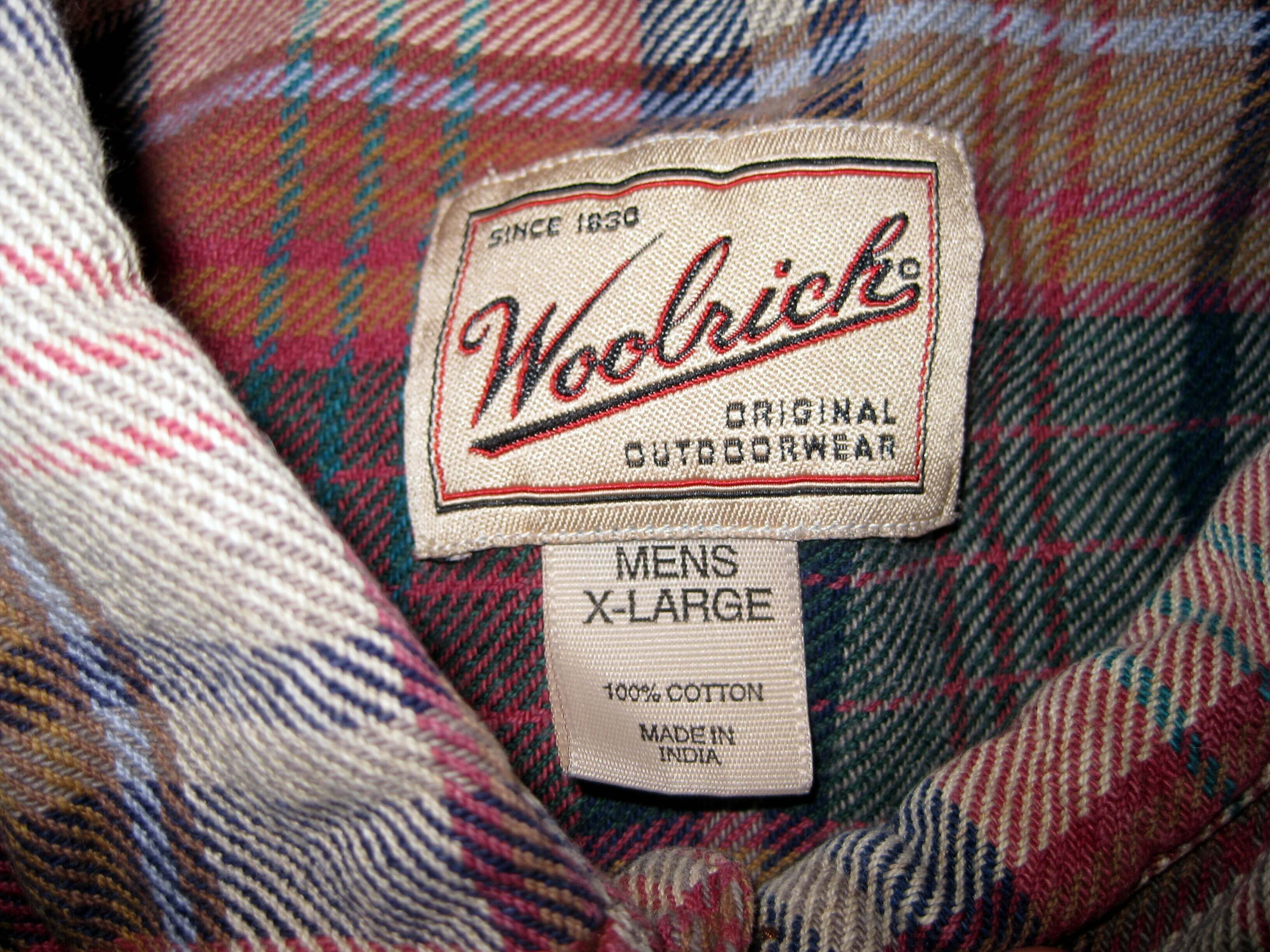 Woolrich Plaid Flannel eBay