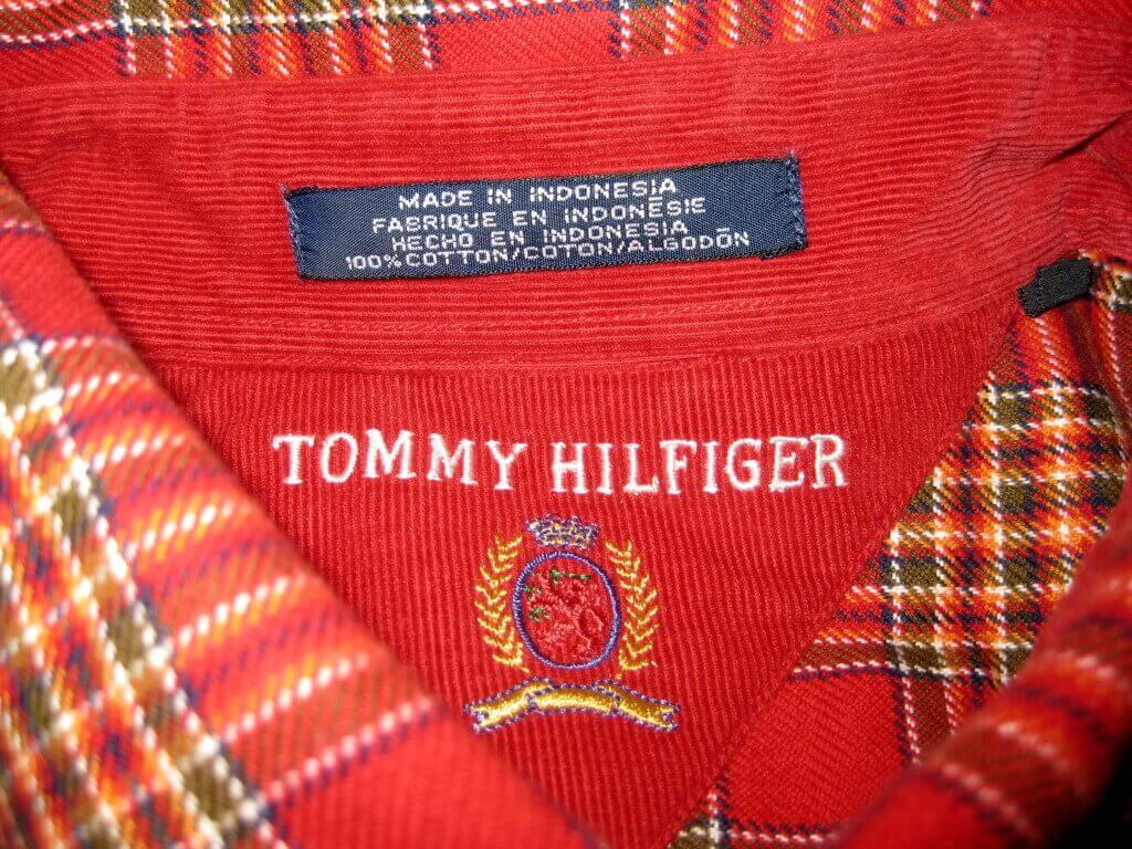Tommy Hilfiger Embroidered Logo