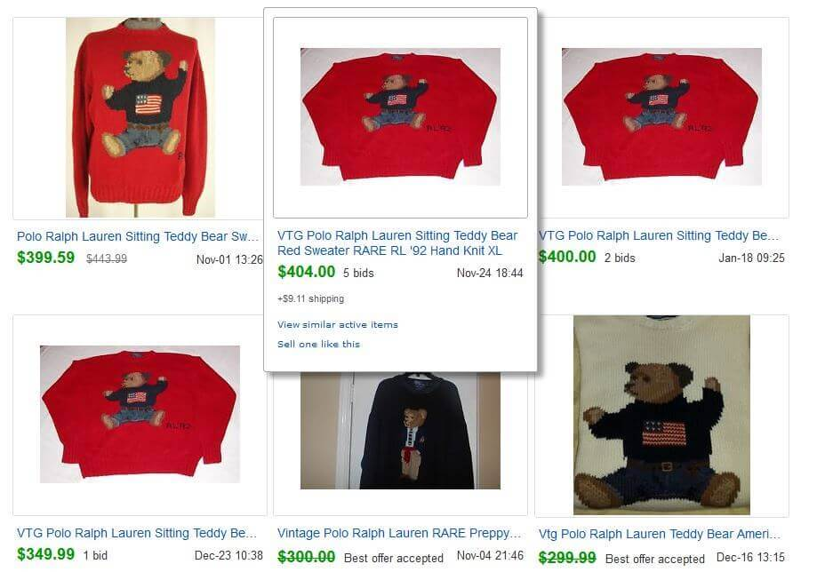 Ralph Lauren Polo Teddy Bear eBay