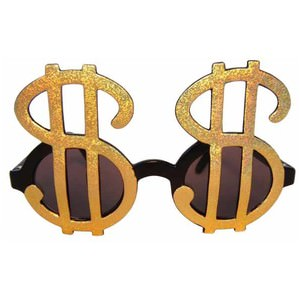 dollar sign sunglasses thrifters goggles