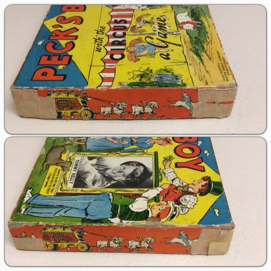 Peck's Bad Boy Board Game eBay Taped Corners