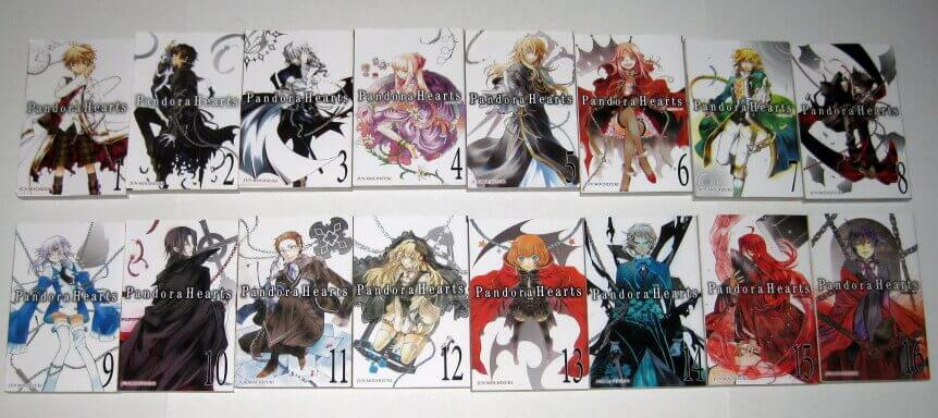 Pandora Hearts Manga Lot eBay