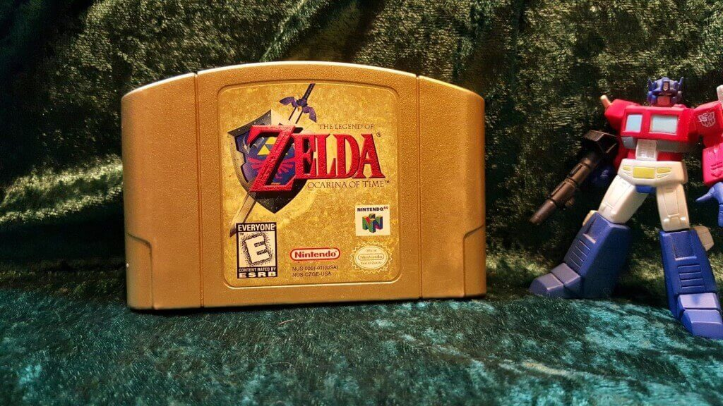 nintendo ocarina of time collector's gold edition n64 ebay
