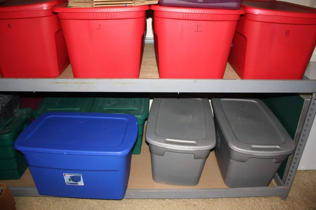 eBay Storage Tubs Inventory System