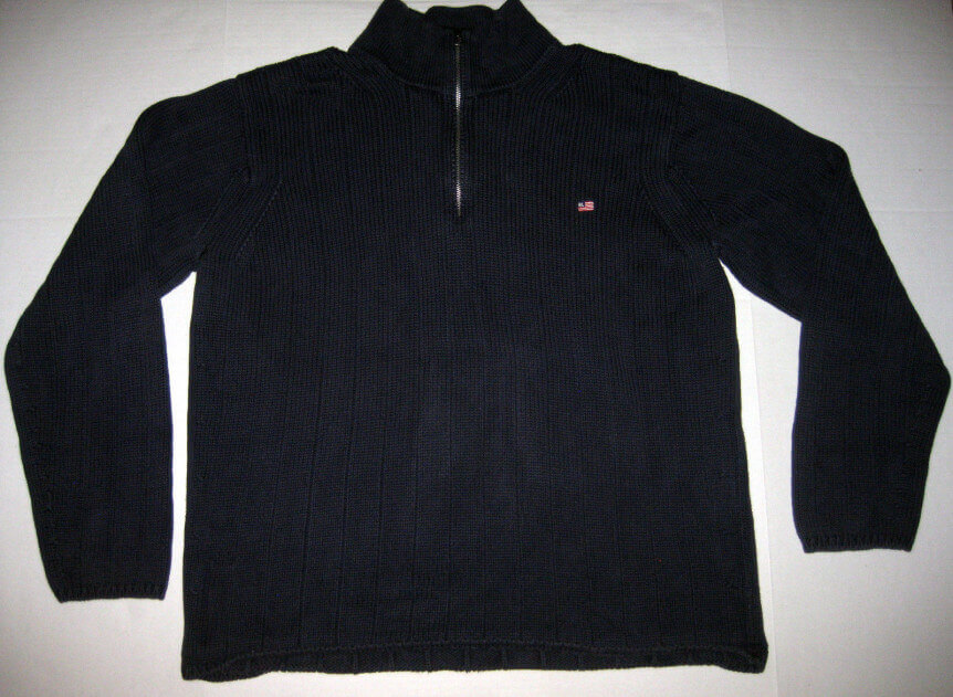 Polo Jeans Ralph Lauren Chunky Cableknit Sweater eBay Return Feedback