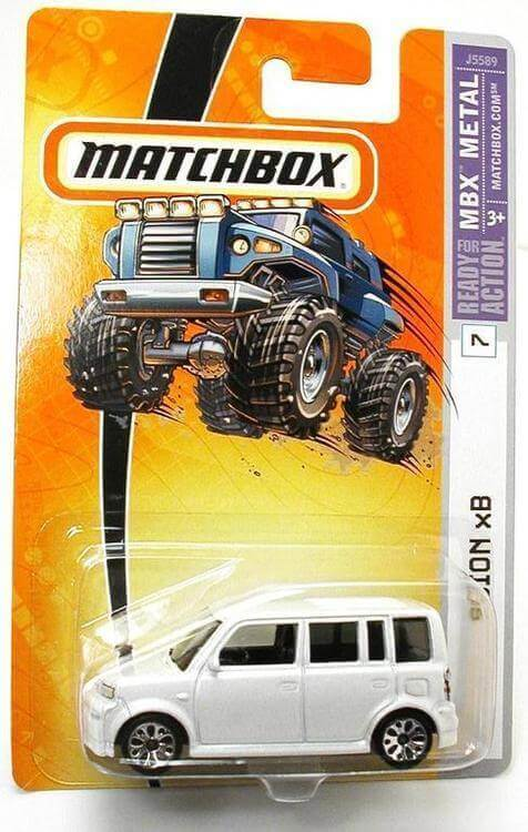 Scion xB eBay Matchbox Car